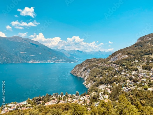 Canvas Print Lake Como , Italy
