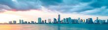 Miami USA Skyline Panorama