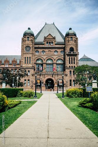 Fototapeta premium Queen's Park, Toronto