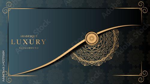Foto Luxury mandala simple Premium Vector