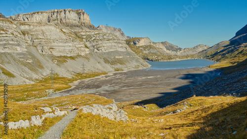 Fotografie, Obraz Scenic View Of Land Against Sky