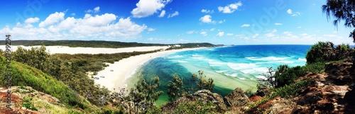 Fototapeta Panoramic Shot Of Sea Against Sky obraz