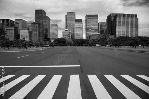 Crosswalk In Tokyo Fototapet