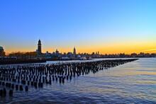 Clock Tower Of Hoboken Terminal Building