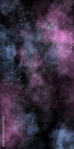 Fototapeta Science Fiction Swirl Galaxy Cosmos Background obraz