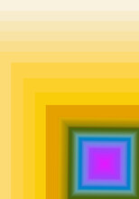 Multi-color Square With Gradient Yellow Frame For Abstract Background