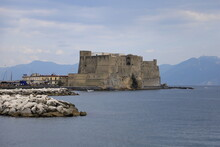 The Fort Of Castel Dell' Ovo In Naples, Italy