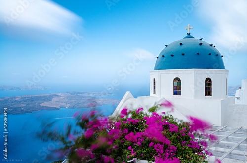Fototapeta Santorini With Love