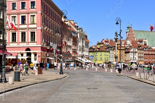 Warszawa, miasto, stolica Polski #421890864