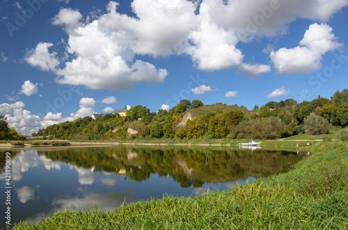 Fototapeta Drohiczyn nad Bugiem - Góra Zamkowa obraz