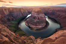 Horseshoe Bend, Arizona Al Tramonto
