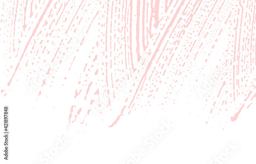 Fotografie, Tablou Grunge texture. Distress pink rough trace. Fetchin