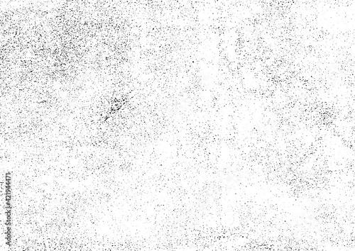 Obraz グランジテクスチャ素材 壁面砂嵐調 ムラ多め 白黒(ベクター、eps10) - fototapety do salonu