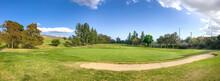 Beautiful Panorama View Of Hansen Dam Golf Course Pacoima CA