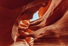 Rock Formations At Canyon