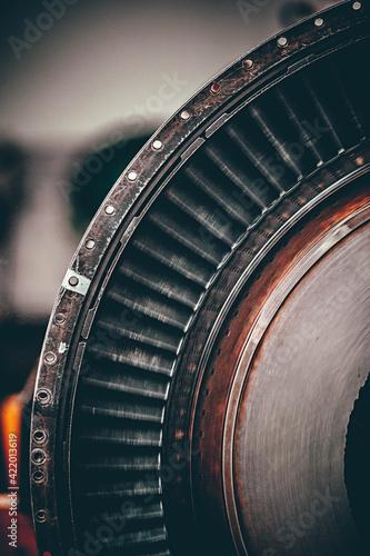 Fototapeta Close-up Of Old Machine obraz