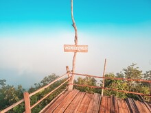 View Point At Phu Nong With Phu Nong Mist Label