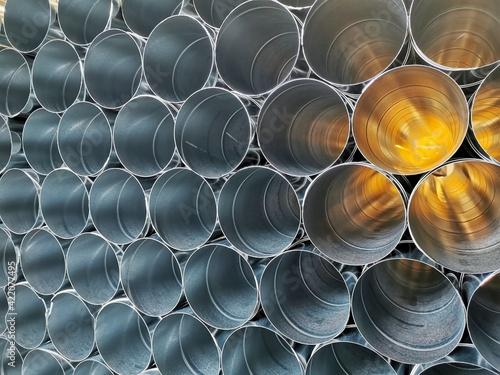 Foto Full Frame Shot Of Pipes