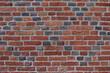 Ściana z cegły kolorowej. Murowana ściana z cegły