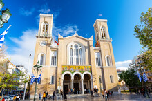 Metropolitan Cathedral Of Athens.