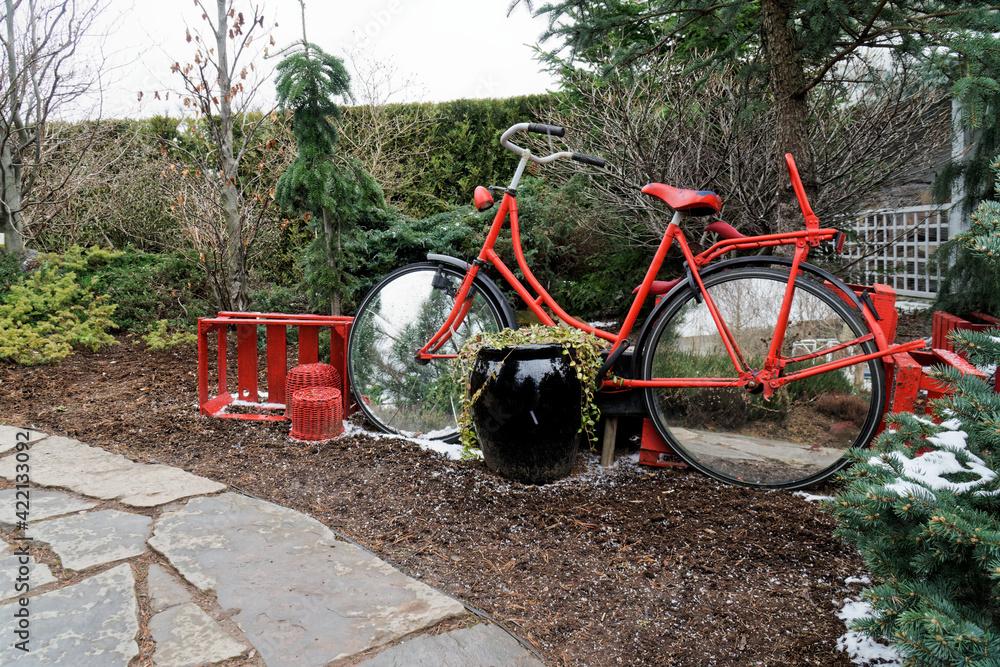 Fototapeta Czerwony rower