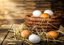 Sunbeams On Eggs