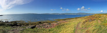 A View Of The Isle Of Man Coast At The Calf Of Man
