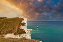 Beachy Head Lighthouse, East Sussex, UK