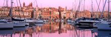 Rows Of Sailing Boats On Senglea Marina, Malta