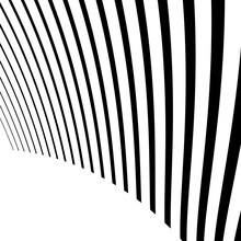 Abstract Wavy, Waving, Billowy Lines Vector Element