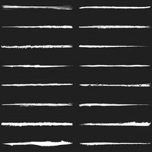 Brush, Paintbrush Stroke. Grungy, Grunge, Textrured Brush. Laceration, Slit, Slash Dynamic Lines. Rupture, Clawmark, Rip Effect