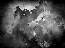 汚れた染み模様の壁のクローズアップ