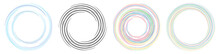 Spiral, Twirl, Whirlpool Element Vector Illustration. Cochlear, Helix, And Volute