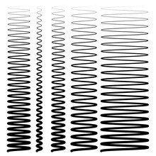 Wavy, Waving, Lines. Zig-zag, Criss-cross Lines Vector Illustration. Undulate, Billowy Distortion Lines. Wave Lines