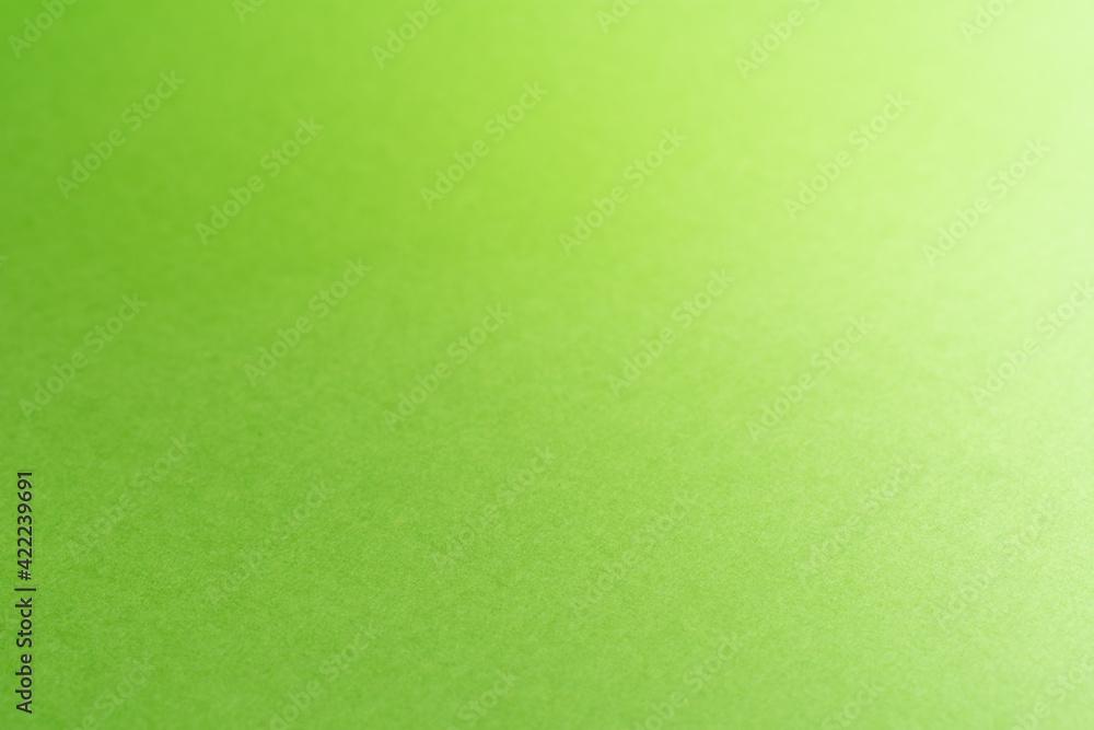 Fototapeta 黄緑色の紙のアップ