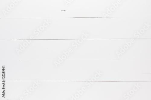 Fototapeta Białe tło z desek obraz