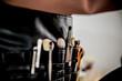 Kosmetyczka makijaż pędzle stylizacja beauty piękno brushes