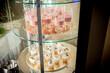 Słodycze w lodówce, przekąski, słodkie, dekoracje