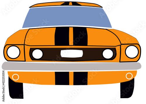 Obraz na plátně Ford Mustang GT
