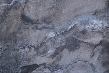 White Marble Pattern With Curly Grey And Gold Veins. Abstract Texture And Background.