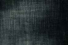 Background Of Black Denim With Light Stripes