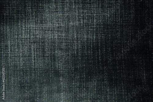 Fotografie, Tablou background of black denim with light stripes