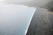 The Famous Black Beach Of Nonza