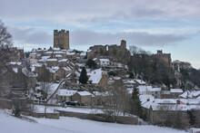 Richmond Castle In The Snow
