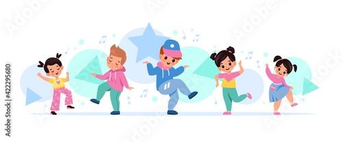 Foto Children dancing
