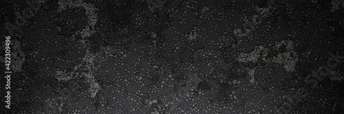 Fototapeta Dunkle Asphalt Hintergrund Textur obraz