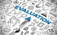Evaluation Konzept Mit Kompass Und Icons