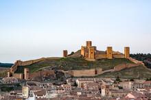 Castillo De Molina De Aragón, Guadalajara, Castilla La Mancha, España.. Medieval, El Segundo En Extensión En  España.