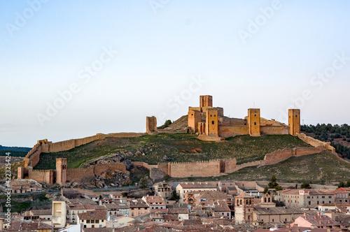 Canvas Print Castillo de Molina de Aragón, Guadalajara, Castilla la Mancha, España