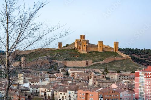 Cuadros en Lienzo Castillo de Molina de Aragón, Guadalajara, Castilla la Mancha, España
